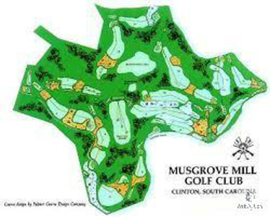 TOP-RATED MUSGROVE MILLS GOLF CLUB - ROUND OF GOLF FOR FOUR