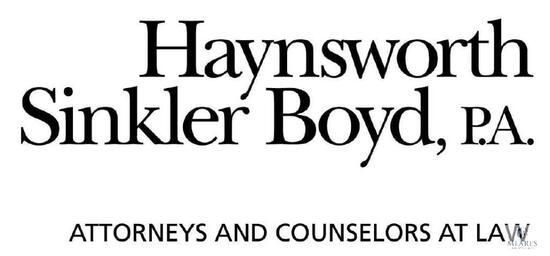 Haynesworth, Sinkler, Boyd (Gold Sponsor)