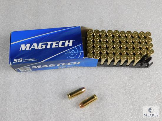 50 Rounds Magtech 10mm Ammo 180 Grain FMJ Brass Case