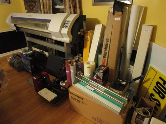 Print / Sign Shop Liquidation