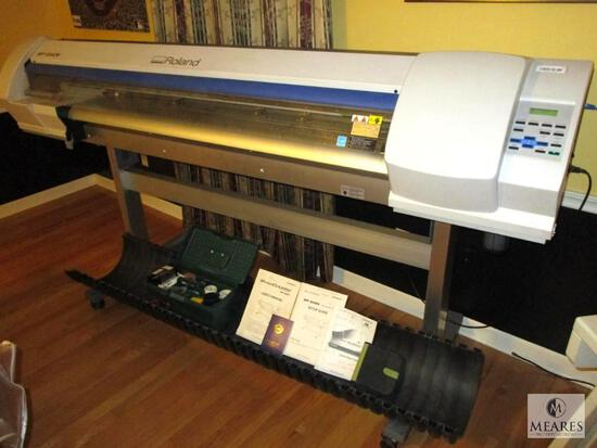 """Roland SP540V VersaCAMM 54"""" Wide Format Sublimation Ink Printer & Cutter with Many Accessories!"""