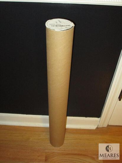 """New Zen Blank White Banner 24"""" x 48"""" Hemmed & Grommet 10oz"""