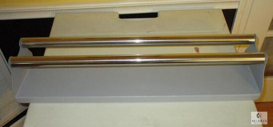 "28"" Heavy Duty Laminate or Transfer Tape Steel Roller - Masking made easy"