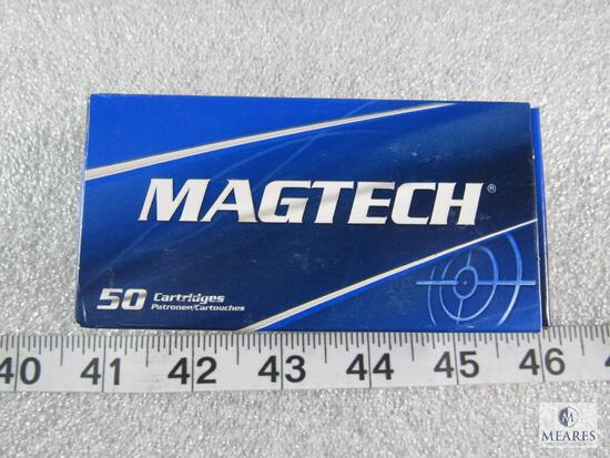 50 rounds magtech 9mm ammo 115 grain FMJ.