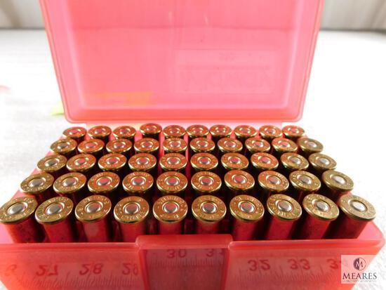 50 rounds factory .303 British ammo in plastic case