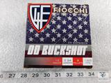 25 rounds Fiocchi .12 gauge Buckshot 2 3/4