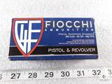 50 rounds Fiocchi 380 Auto-95 grain 960 FPS.