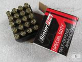 20 rounds 9mm Special Duty Self Defense ammo. 100 grain hollow point