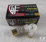 10 rounds Fiocchi .12 gauge Buckshot. 2 3/4