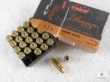 25 rounds PMC 10mm 170 grain jacketed hollow point self defense ammo.