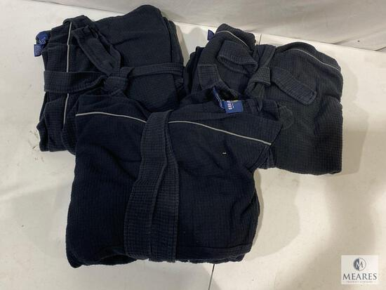 Lot of (3) Stafford Spa Robes - One Size Fits Most