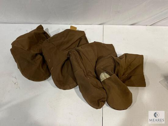 Lot of (4) ECO-FIN Boots with Weighed/Heat Inserts
