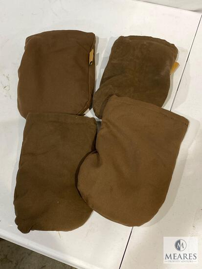 Lot of (4) ECO-FIN Weighted/Heat Packs with Inserts