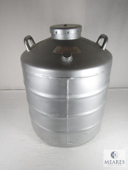 MVE Cryogenics Liquid Nitrogen Double Walled Vacuum Vessel - Empty