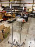 Two Rolling 2-Hook 4-Leg IV Poles