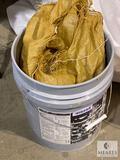36-pound bucket of coarse-ground Pink Himalayan Salt