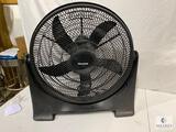 Pelonis Adjustable Speed and Elevation Floor Fan