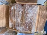 Box of 46-pounds of Pink Himalayan Salt Bricks and Pieces