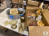 Decorator Lot with Faux Food Items