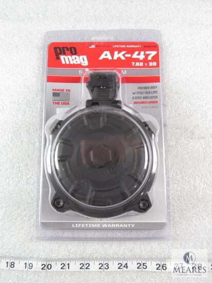 New 50 round AK47 7.62x39 drum magazine