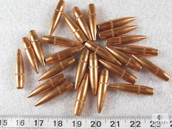 25 count 50 cal. Bullets for reloading