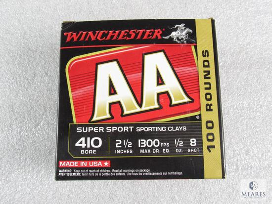 100 Rounds Winchester AA .410-gauge Shotgun Shells - 2 1/2-inch 8-shot - 1300 fps