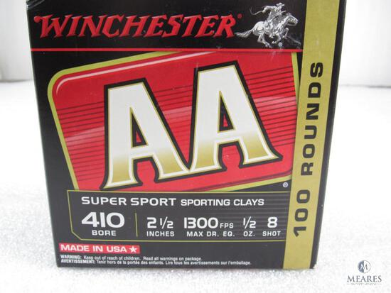 100 Rounds Winchester AA .410-gauge Shotgun Shells - 2 1/2-inch 8-shot - 1300 fps