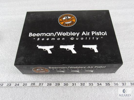 Vintage Beeman/Webley Airgun Box - EMPTY