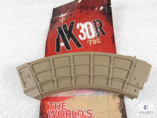 NEW 30-Round AK47 7.62x39 Rifle Magazine - Dark Earth Color