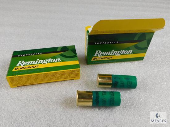 """10 Rounds Remington .12 Gauge Buckshot 2 3/4"""" 000 Buck 8 Pellet 1325FPS"""