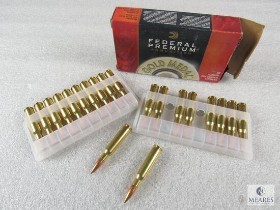 20 Rounds Federal .308 WIN 168 Grain Sierra Matchking BTHP Ammo