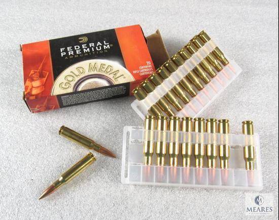 21 Rounds Federal .308 WIN 168 Grain Sierra Matchking BTHP Ammo