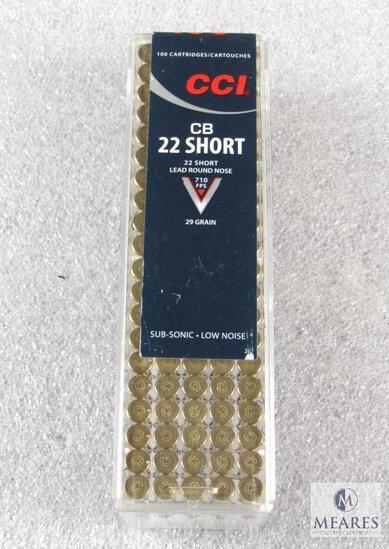 100 Rounds CCI CB .22 Short 29 Grain Ammo