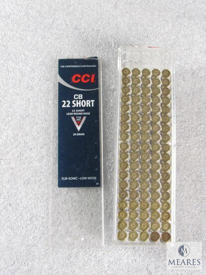 90 Rounds CCI CB .22 Short 29 Grain Ammo