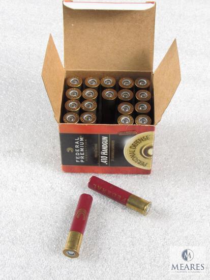 """20 Rounds Federal .410 Gauge 2-1/2"""" 7/16 oz 4 Shot 1200 FPS Shot Shells"""