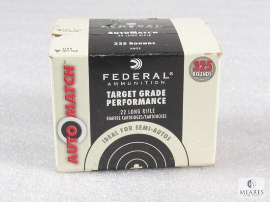 325 Rounds Federal Target Grade .22LR Ammo