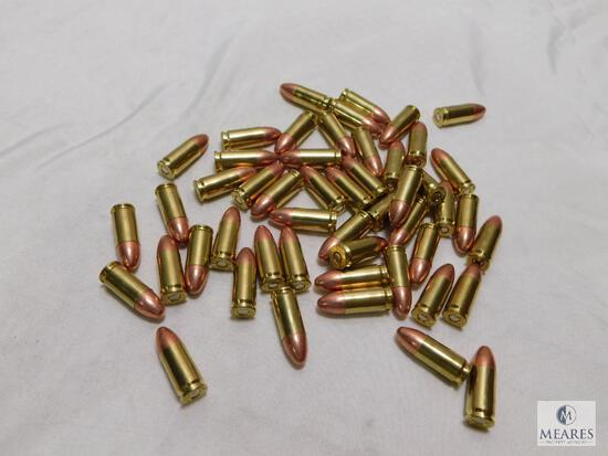 50 round new factory CCI Blazer 9mm ammo. 115 grain FMJ