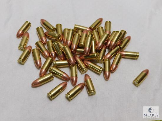50 rounds new factory CCI Blazer 9mm ammo. 115 grain FMJ.