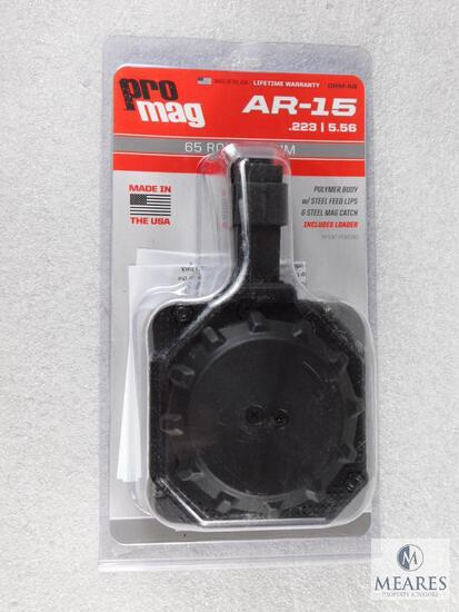 New ProMag AR-15 .223 / 5.56 Drum Magazine 65 Round Capacity