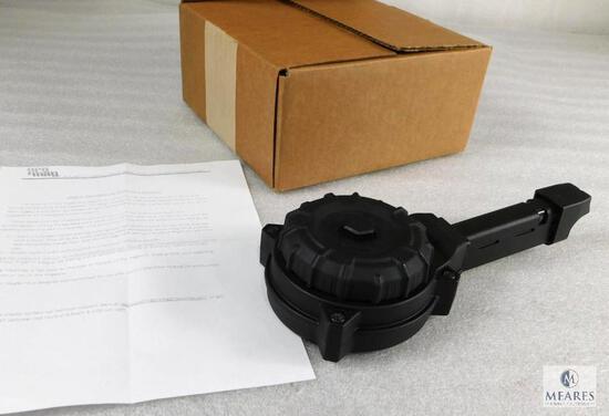 New Drum Magazine fits Glock G17 / G19 9mm 50 Round Capacity