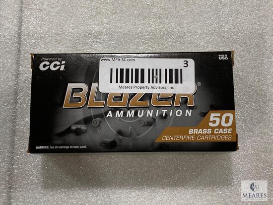 50 Rounds Blazer .45 ACP Brass Case 230 Grain FMJ