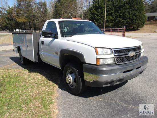 2006 Chevrolet Silverado Pickup Truck, VIN # 1GBJC34D06E225724