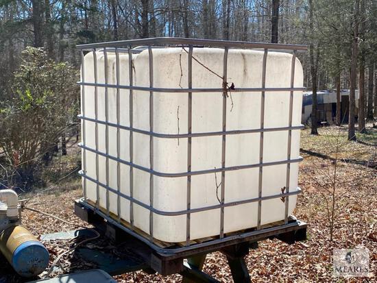 275 Gallon Non-Potable Fluid Tank