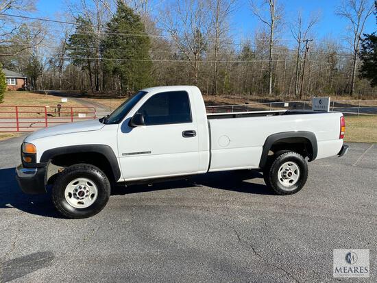2003 GMC Sierra 2500 HD Pickup Truck, VIN # 1GTHC24U93Z168948