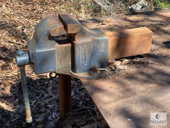 Columbian Vise Co., Cleveland, OH, Machinist's Bench Vise 506-M2