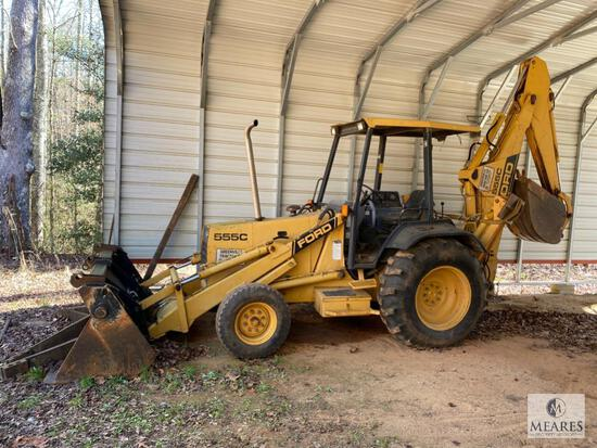 Ford New Holland 555C Backhoe