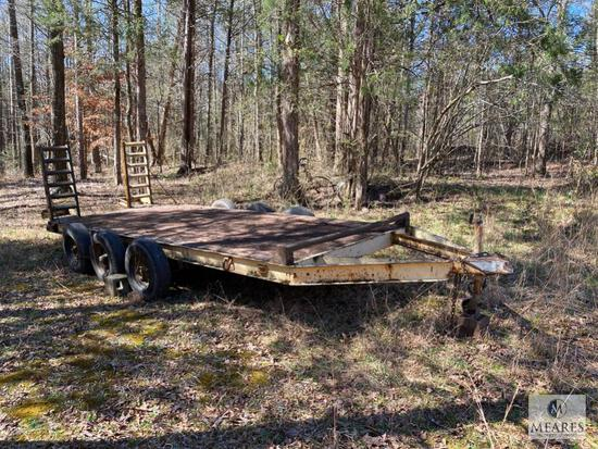 Triple Axle Trailer with Ramps - NO TITLE - Bill of Sale only