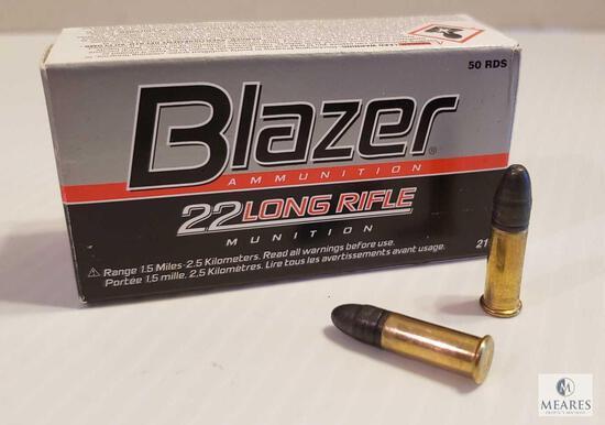 50 Rounds Blazer .22 LR 40 Grain Ammo