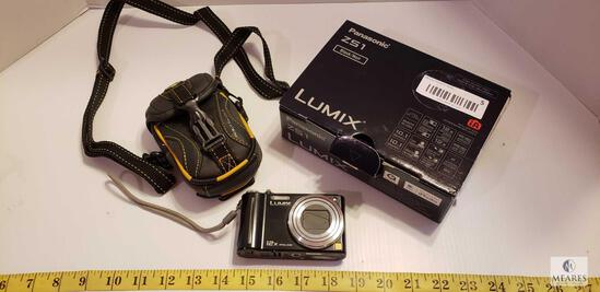 Panasonic Lumix ZS1 Digital Camera 10.1 Megapixels & Body Glove Case