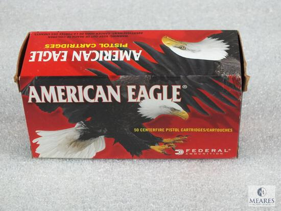 50 rounds Federal American Eagle .38 Special ammo. 158 grain lead round nose.